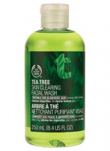 The Body Shop's Tea Tree Oil Face Wash (Quick!) Review